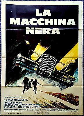 Manifesto Poster Movie Cinema La Macchina Nera The Car Silverstein Horror Usa Sa