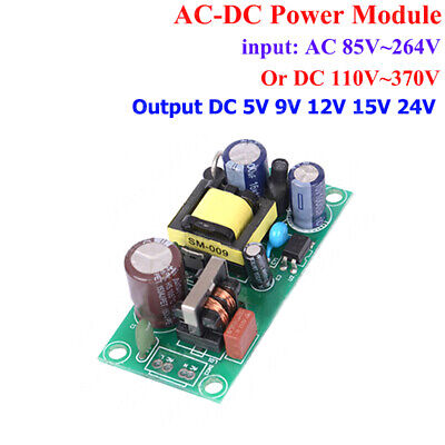 AC-DC Power Supply Buck Step Down Converter AC110V 220V 230V to DC 5V 9V 12V 24V