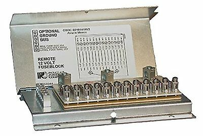 Parallax FB12 FB Series Fuse block 12 DC Load Circuits