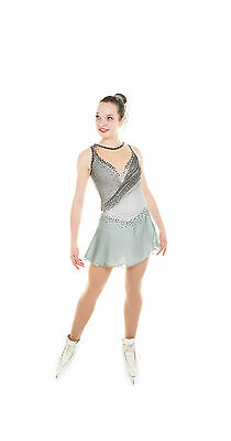 New Competition Skating Dress Signature Elite Xpression 1816 Crystal Adult Large
