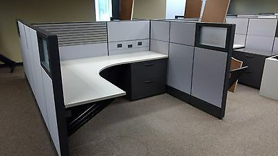 Used Herman Miller Q Cubicle Panel System