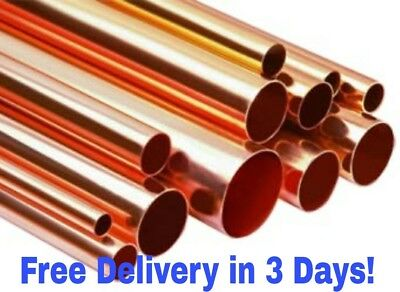 """4"""" Copper Pipe Type L, $5.50 By The Inch (Length Cut to Order)"""