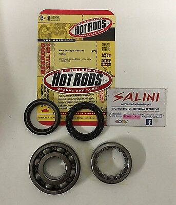 Kit cuscinetti e paraolio di banco HONDA CRF 250 R (2004/2005) - HOT RODS K041