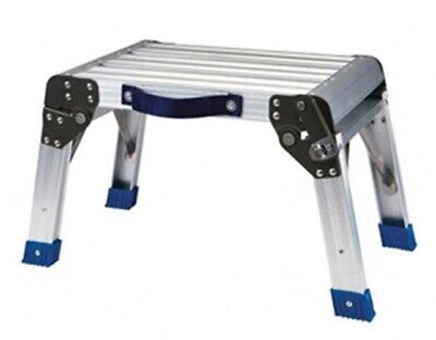 GRIP-ON-TOOLS Aluminum Step Stool and Working Plkatform GR54095