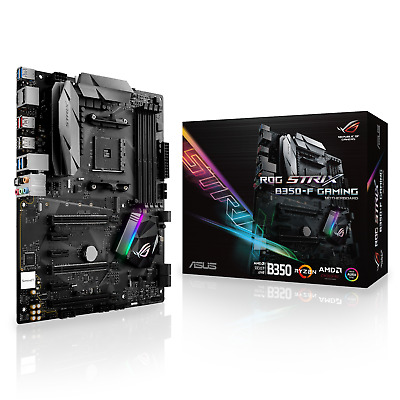 ASUS ROG STRIX B350-F GAMING - ATX Motherboard for AMD Socket AM4 CPUs