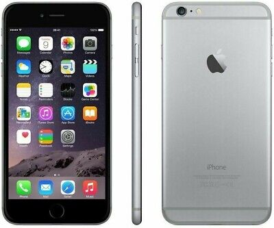 Apple iPhone 6 - 16GB - Gray - Factory Unlocked; AT&T / T-Mobile / Global
