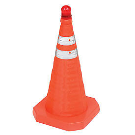 """Aervoe 1190 18"""" Collapsible Safety Cone, Lot of 6"""