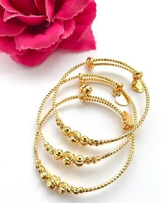 Gold Plated Heart Bangle Set Indian Bollywood Jewellery Wedding Jewelry Asian