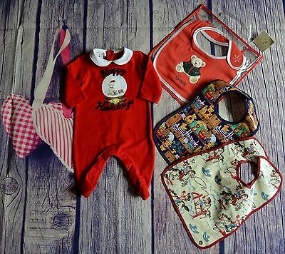 Gucci Harrods Christmas Baby Boy Or Girl Designer Clothes Bundle Suit & Bibs