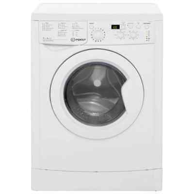 Indesit IWDD7143 Eco Time Free Standing 7Kg Washer Dryer White New from AO