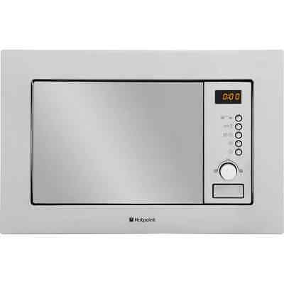 Hotpoint MWH122.1X 800 Watt Microwave Built In Stainless Steel New from AO