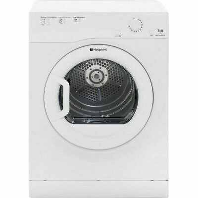 Hotpoint TVFM70BGP Aquarius 7Kg Vented Tumble Dryer White New from AO