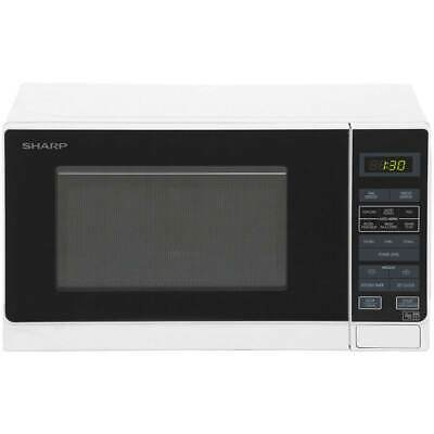 Sharp Microwave R272WM 800 Watt Microwave Free Standing White New from AO