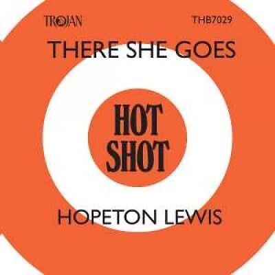 """HOPETON LEWIS There She Goes 7"""" single Limited Record Store Day 2017 Nuovo"""