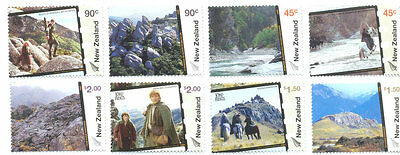 New Zealand Lord of the Rings-4th issue mnh set (2714-2721)