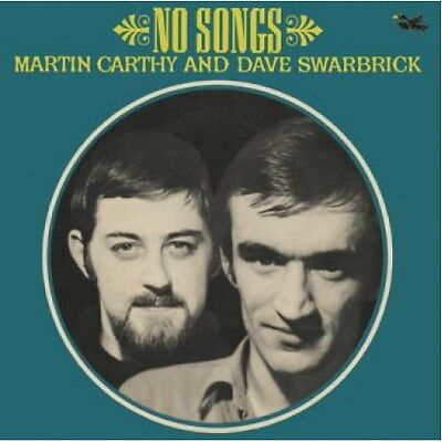 """MARTIN CARTHY & DAVE SWARBRICK No Songs 7"""" single Record Store Day 2017 Nuovo"""
