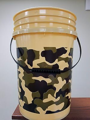 5 GALLON BLACK Bucket with Gamma Seal Lid - $30 00 | PicClick