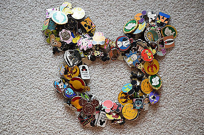 DISNEY trading PIN LOT 50 FAST FREE USA SHIPPING + LE, LR, Paris Tokyo or HK pin