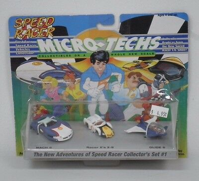 Micro-Techs New Adventures of Speed Racer Collector's Set #1 by Ace