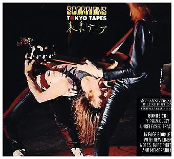 Scorpions - Tokyo Tapes, 2 Audio-CDs (50th Anniversary Deluxe Edition) CD  NEU