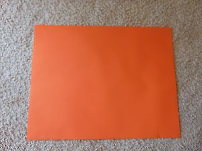 Pre Press/ Orange Vinyl Masking Sheets/ Pkg Of 5