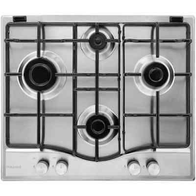 Hotpoint PCN642IXH Newstyle Built In 59cm 4 Burners Gas Hob Stainless Steel New