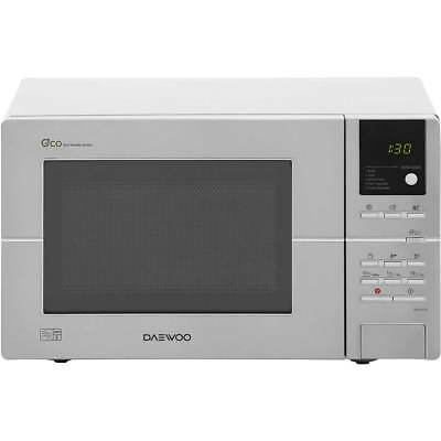 Daewoo KOR6L5R 800 Watt Microwave Free Standing Stainless Steel New from AO