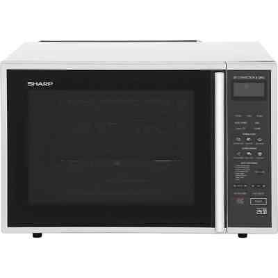 Sharp Microwave R959SLMAA 900 Watt Microwave Free Standing Silver / Black New