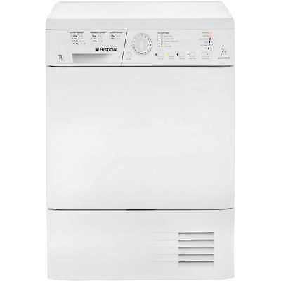 Hotpoint TCHL73BRP Aquarius B Rated 7Kg Condenser Tumble Dryer White New