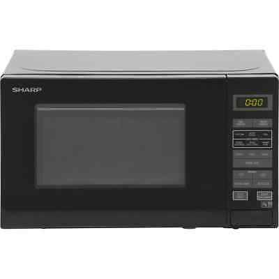 Sharp Microwave R272KM 800 Watt Microwave Free Standing Black New from AO