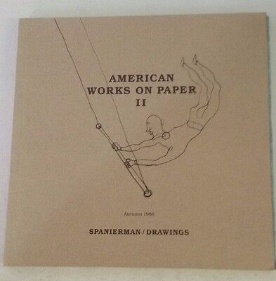 American Works on Paper II  by Spanierman Gallery (Author) - 1988