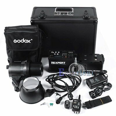 Godox RS-600P 600W Wireless Studio Flash Strobe Light + Battery + Trigger【US】