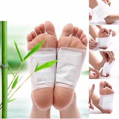 5/100Pair Health Care Detox Foot Pads Patch Detoxify Toxins Adhesive Keeping Fit