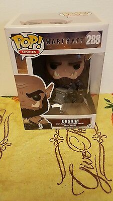 Funko POP Movies: Warcraft - Orgrim Action Figure NON Mint Box