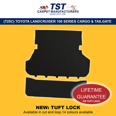 Moulded Car Carpet (T25C) Toyota Landcruiser 100 Series  Cargo
