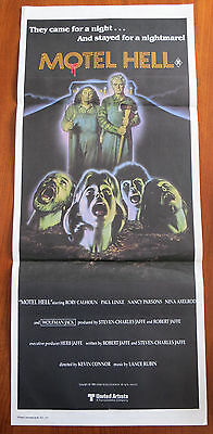 MOTEL HELL (1980) Original Australian Daybill Movie Poster Horror