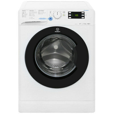 Indesit XWE81482XWKKK Innex A++ 8Kg Washing Machine White / Black New from AO