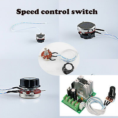 WH118-1A potentiometer 10K speed control knob switch 3P linear control handle KN