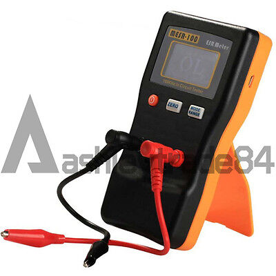 AutoRanging In Circuit ESR Capacitor Meter Tester MESR-100 Up to 0.001 to 100R