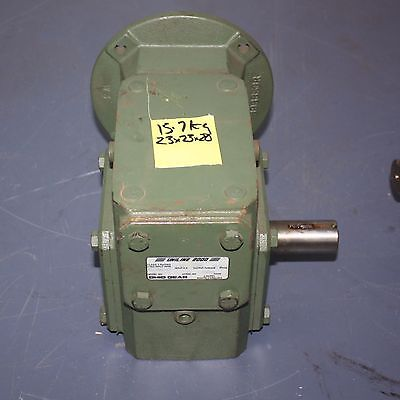 Ohio Uniline 2000 Wormdrive Gear Box 82238Mq140 1.61 Hp 985 Torque 20:1 Ratio