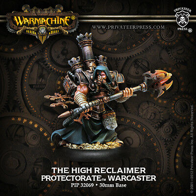 Warmachine Menoth Warcaster The High Reclaimer '10