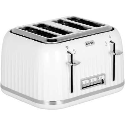 Breville VTT470 Impressions 4 Slice Toaster White New from AO