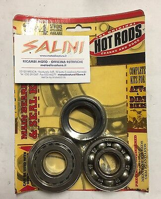 Kit cuscinetti e paraolio di banco YAMAHA YZ 125 (05/15) - HOT RODS K045