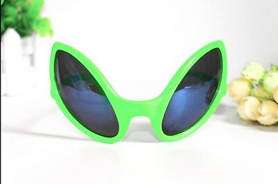 E.T. Alien eyes shaped glasses,fun party glasses,novelty glasses,green funny