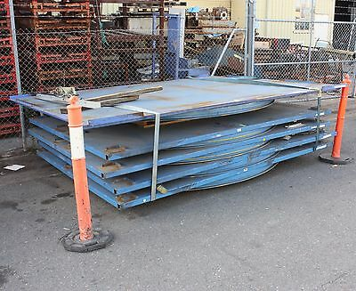 low profile turntable rotating rotator suit car 3.5m x 2.86m 150mm high