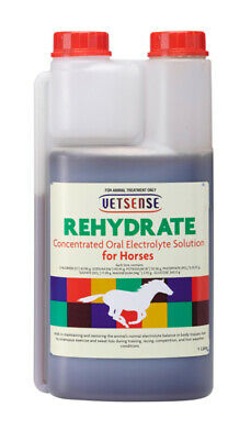 Vetsense Rehydrate, Electrolyte Solution For Horses 1 Litre