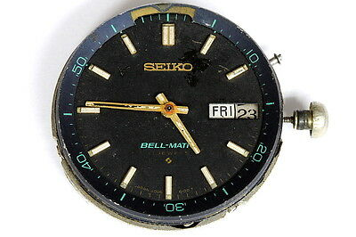 Seiko 4006A Bell-Matic movement for parts/restore - 125838