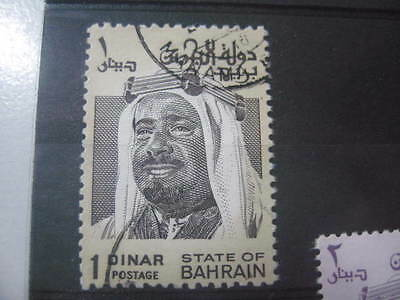 Timbre State Of Bahrain 1 Dinar Obl. 1976
