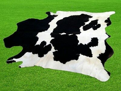"""New Cowhide Rugs Area Cow Skin Leather 22.08 sq.feet (60""""x53"""") Cow hide MB-9442"""