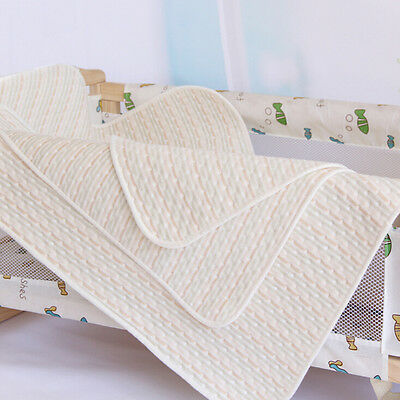 4 Size Baby Infant Diaper Urine Mats Reusable Organic Cotton Changing Cover Pads